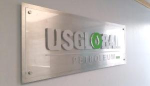 office lightbox signage